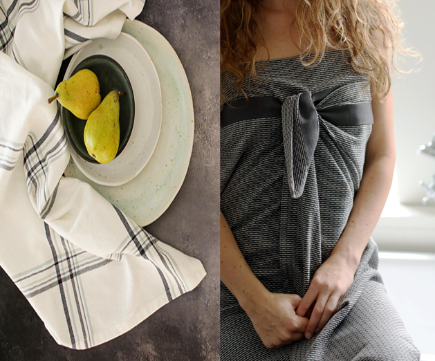 Creating meaningful and tasteful interiors textiles from 100% GOTS certified organic cotton